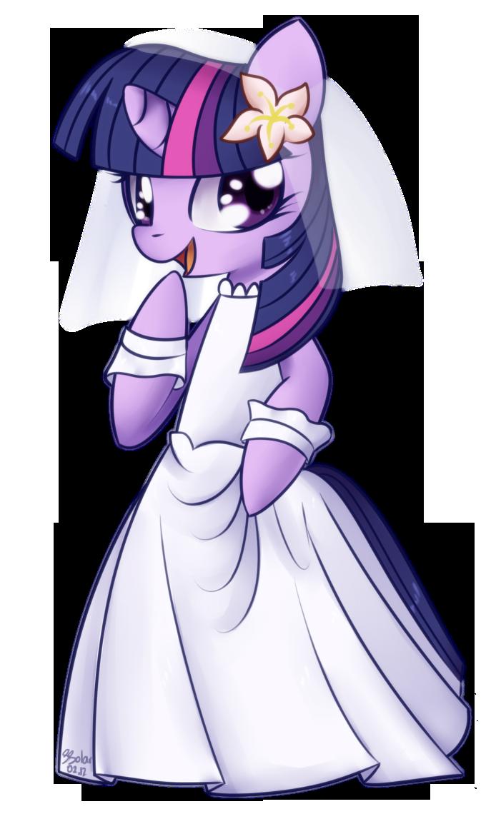 Twilight Sparkle - Wedding Dress by Bukoya-Star