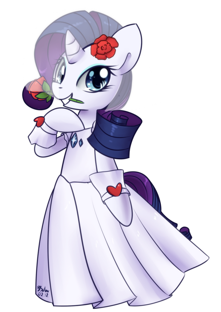 Rarity - Wedding Dress by Bukoya-Star on DeviantArt