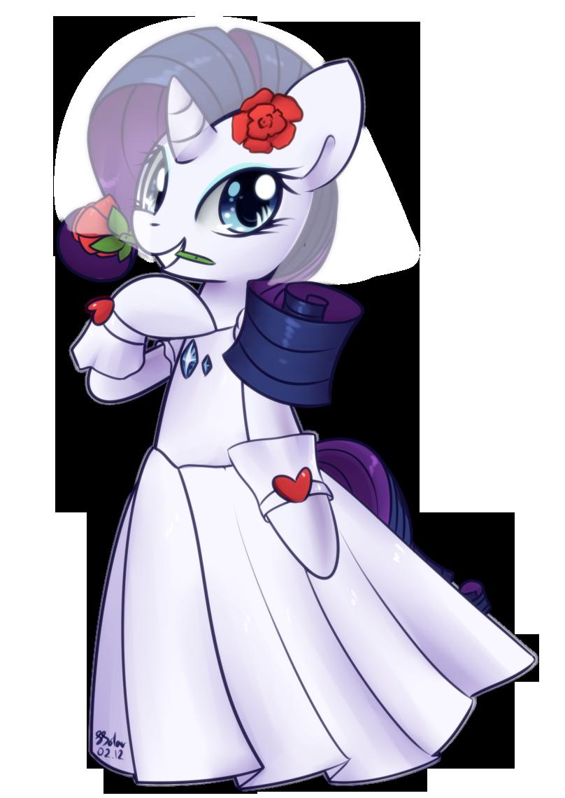 Rarity - Wedding Dress by Bukoya-Star