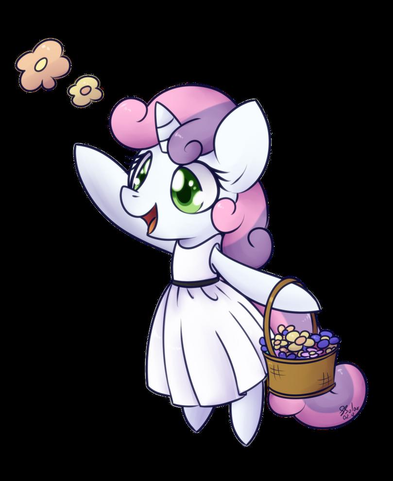 Flower Filly - Sweetie Belle by Bukoya-Star