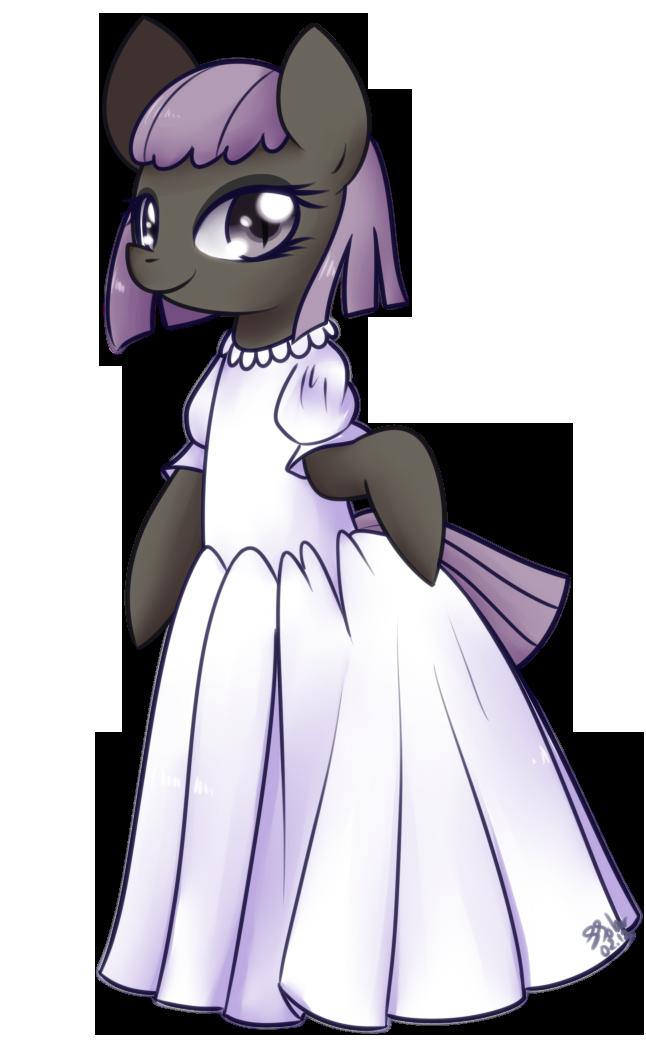 Wedding Dress - Black Snooty by Bukoya-Star