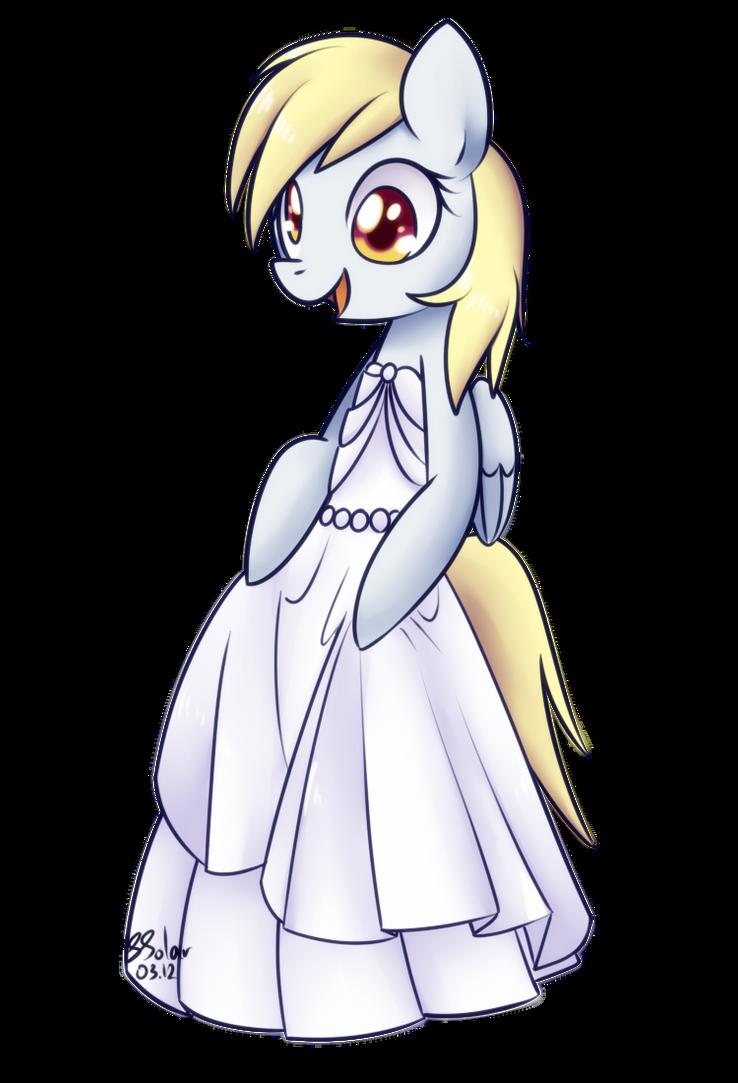 Derpy - Wedding Dress by Bukoya-Star