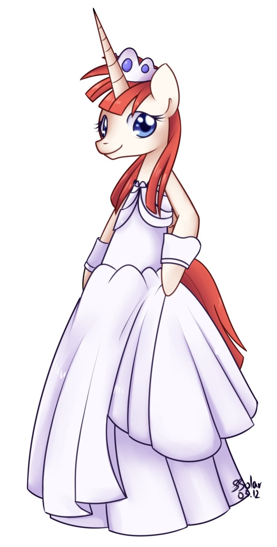 Wedding Dress - Lauren Faust by Bukoya-Star