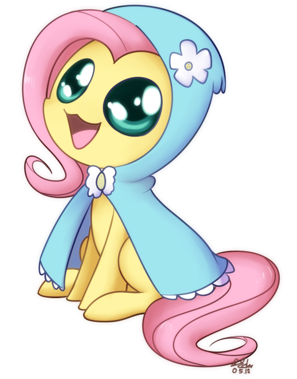 Fluttershy - Hoodie Chibi by Bukoya-Star on DeviantArt