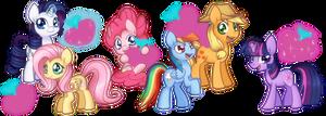 Pony Plushies