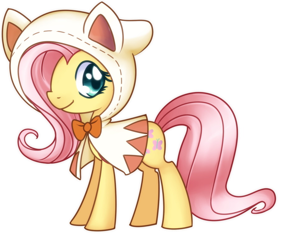 Fluttershy - White Mage by Bukoya-Star