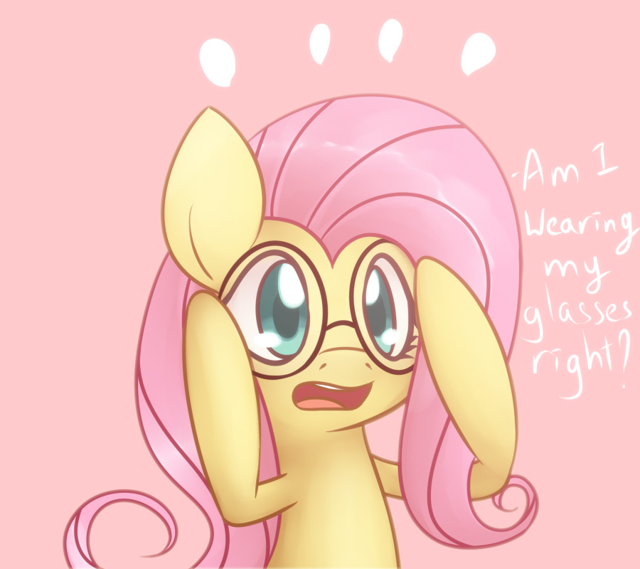 Fluttershy Glasses by Bukoya-Star