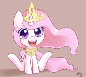 Princess Celestia - Chibi by Bukoya-Star