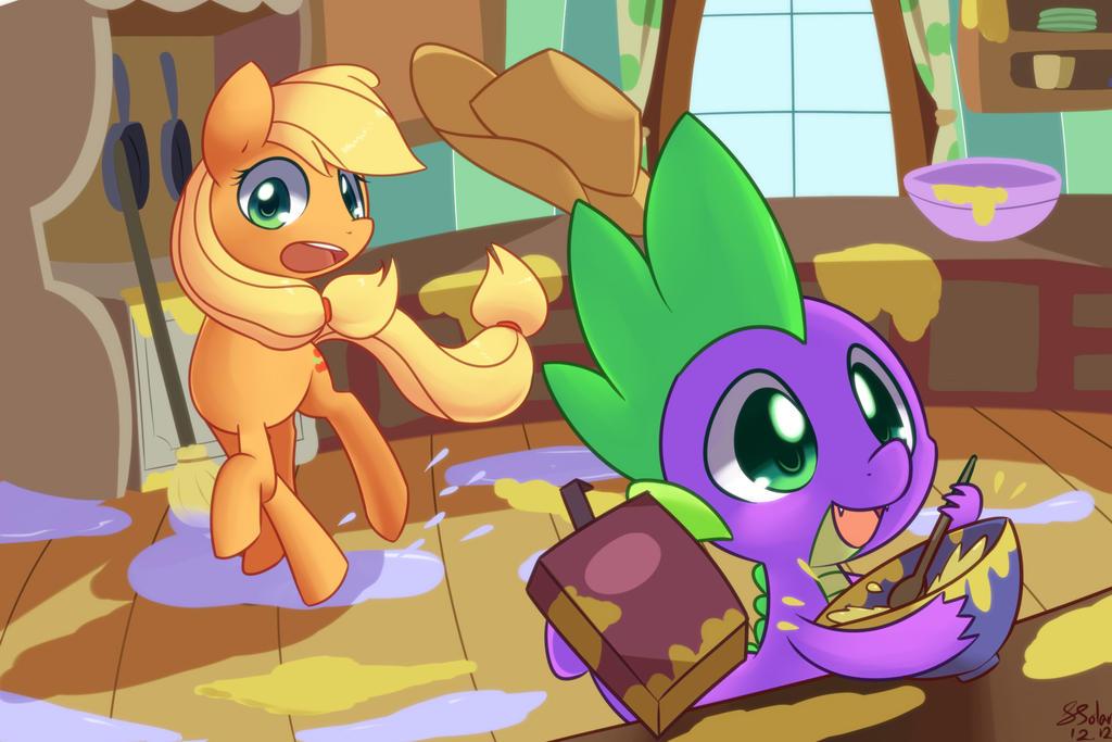 Helpful Spike by Bukoya-Star