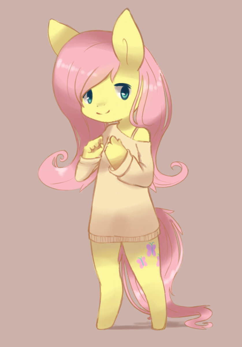 Fluttershy Anthro by Bukoya-Star