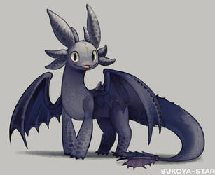 Toothless by Bukoya-Star