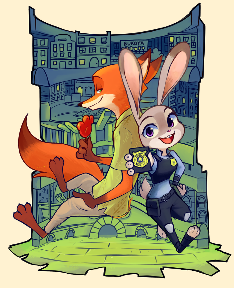 Zootopia! by Bukoya-Star