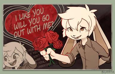 Valentine from a Potato