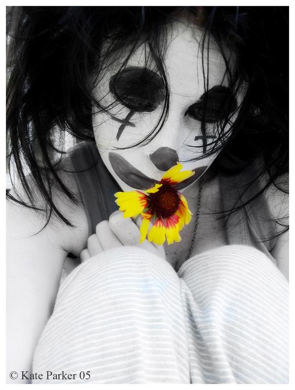 Sad Clown by KateBlue