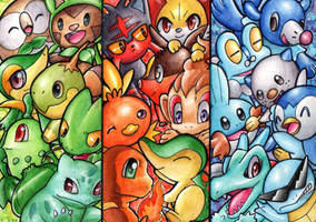 STARTERS MIX by rouge-bat