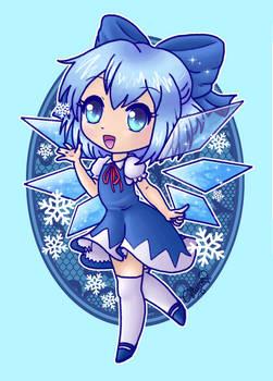 Chibi Cirno ice fairy