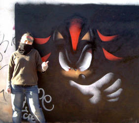 shadow graffiti by rouge-bat