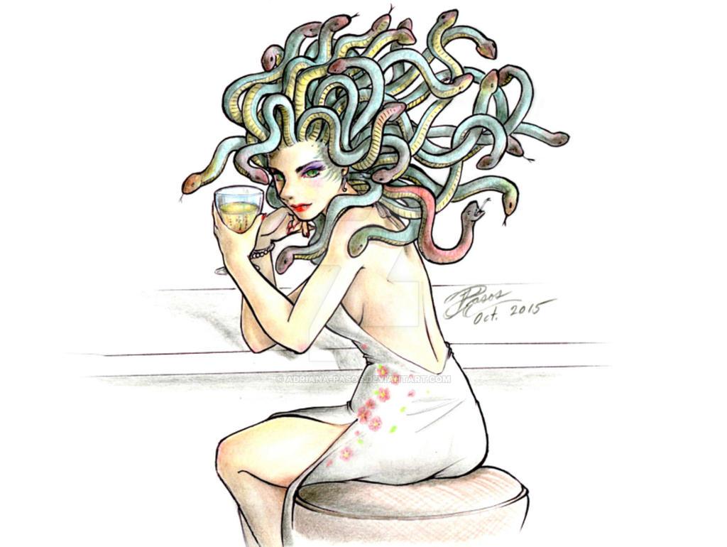 Medusa by Adriana-Pasos