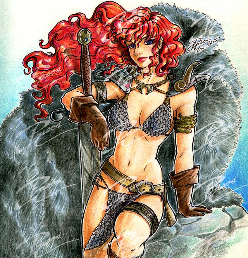 Red Sonja by Adriana-Pasos