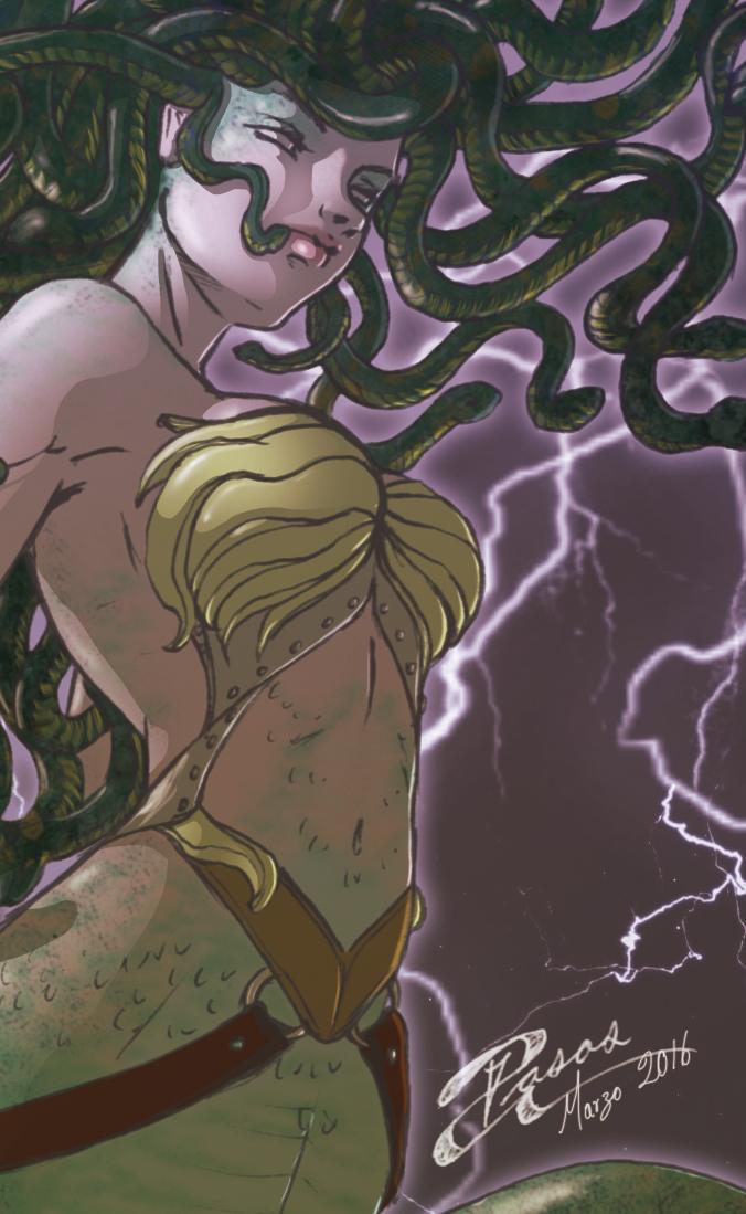 Lady Medusa Muestra by Adriana-Pasos