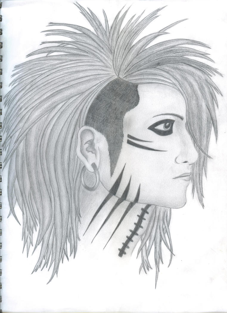Ashley Purdy Black and White. by theactualkairi on DeviantArt