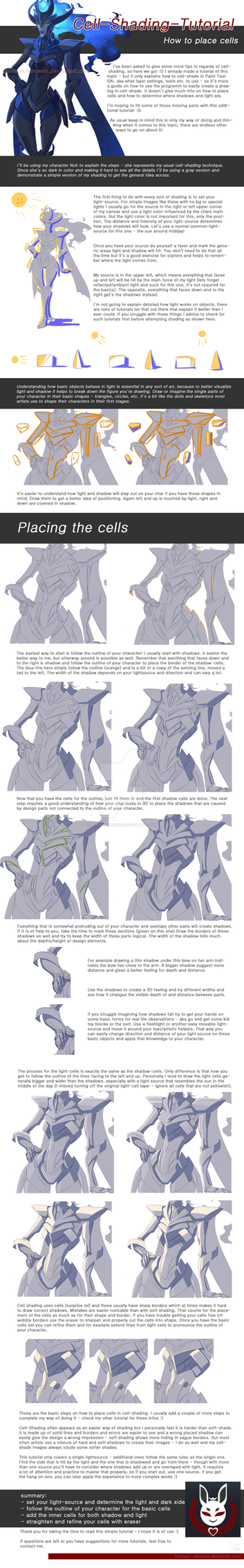 Basic Cell Shading Tutorial 2 - Placing Cells by crimson-nemesis
