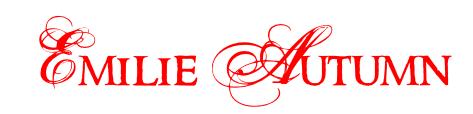 Emilie Autumn Emilie_Autumn_Logo_by_AlicexDear