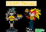 Splatoon Team Pancakes by RexTheTRexHog