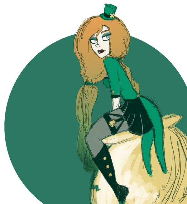 St Patricks Day by luvesong