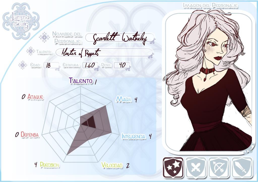 Scarlett Watheley by luvesong