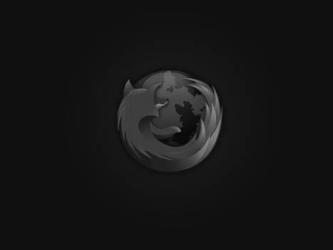 about:blank dark grey FireFox