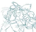 Ryu Vs Jin Kazama WIP