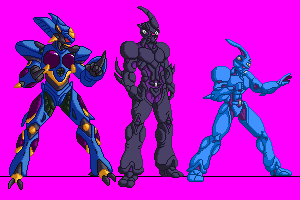 Guyver-Rebirth-Playable-Characters by Odin787