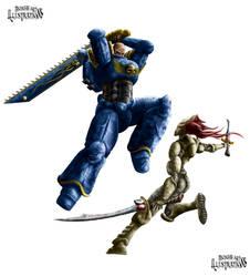 Warhammer 40,000 Dual by Michael-Watson