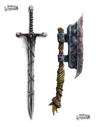 Fantasy Weapons by Michael-Watson