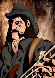 Lemmy Kilmister- Motorhead by Michael-Watson
