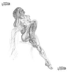 Life Drawing #1 by Michael-Watson