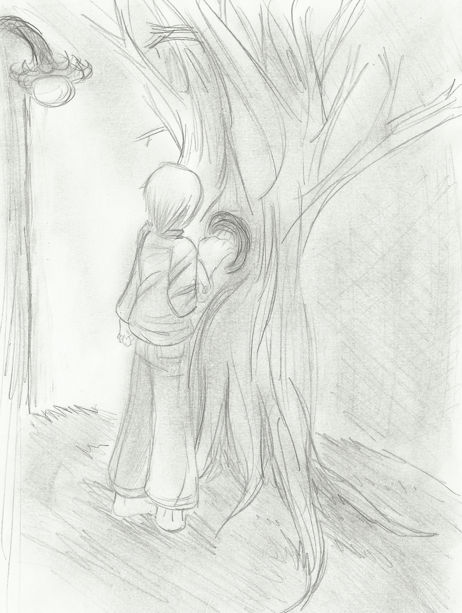 tkam arthur boo at the tree by mellodramareborn on