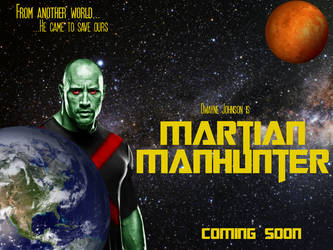 The Rock Martian Manhunter by SteelCity43