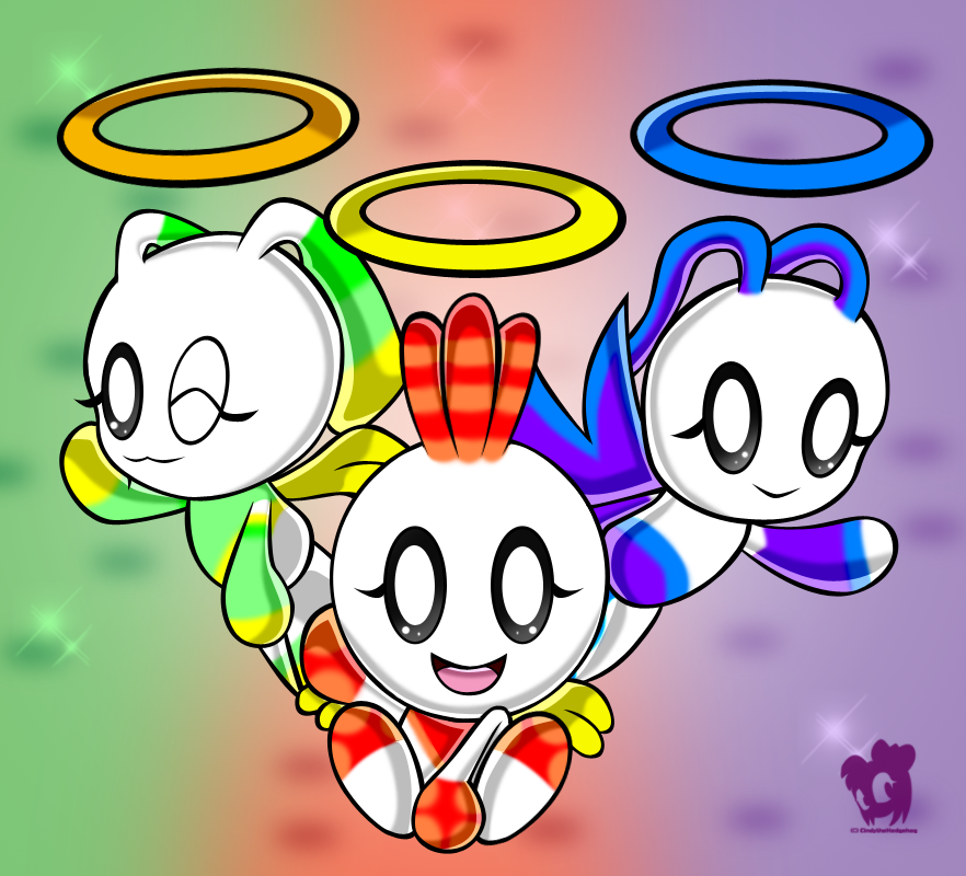 Chao Trio Team by HeroineMarielys