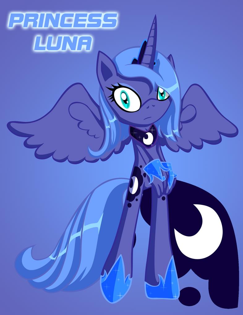 MLPFIM SS Princess Luna by HeroineMarielys