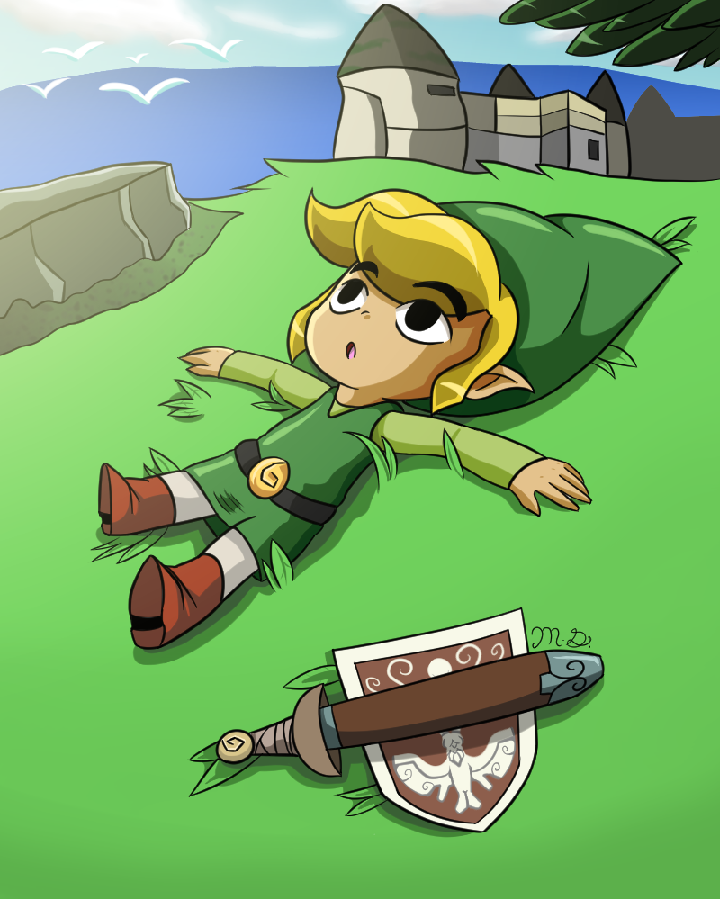 Looking for a fan art of link that I can't find anymore ...