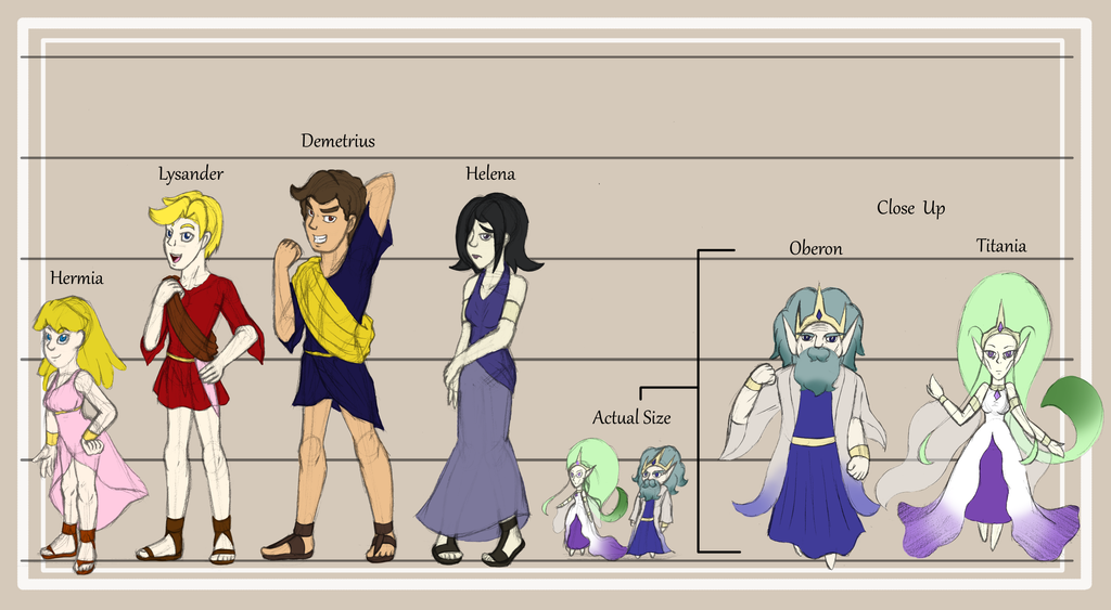 MSND Character Line Up Chart by HeroineMarielys on DeviantArt
