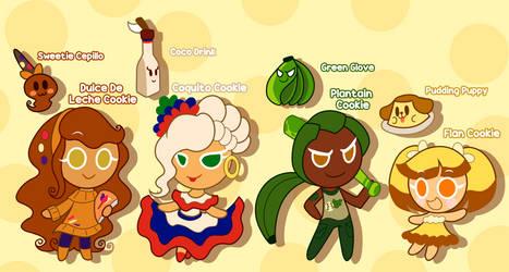 Cookie Run OCs Primos de Galletas
