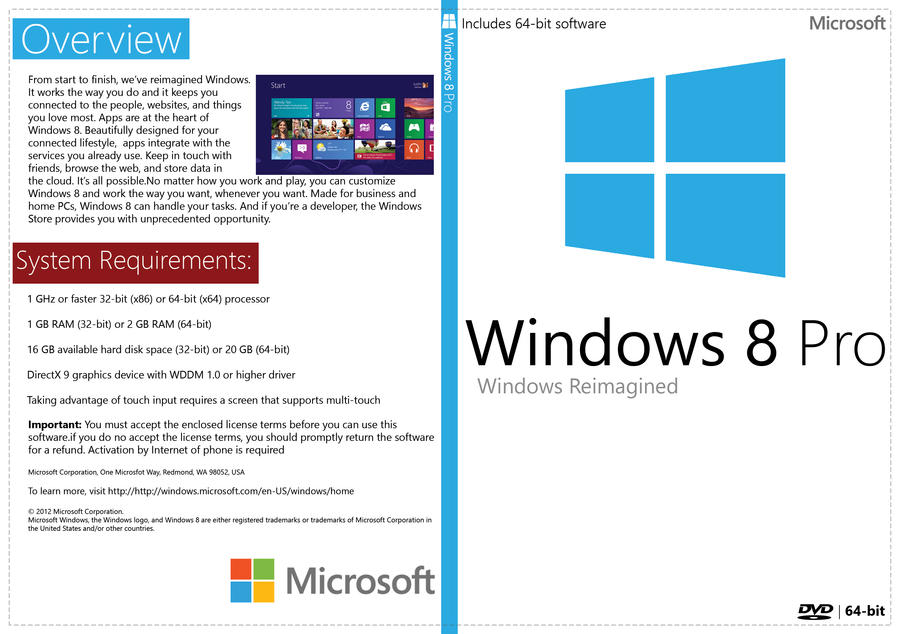 activate windows 8 pro 64 bit