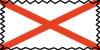 Alabama State Flag Stamp by mikiaru