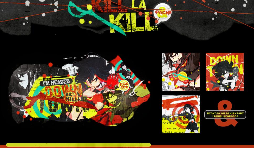 Kill la Kill by Ryoko30