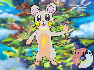 Mousplug -The Yellow Neck Pokemon