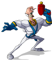 Earthworm Jim by Zeefster