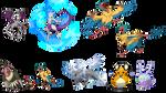 Pokemon Vectors
